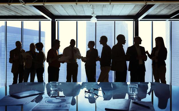 Immagine di persone ad un convegno