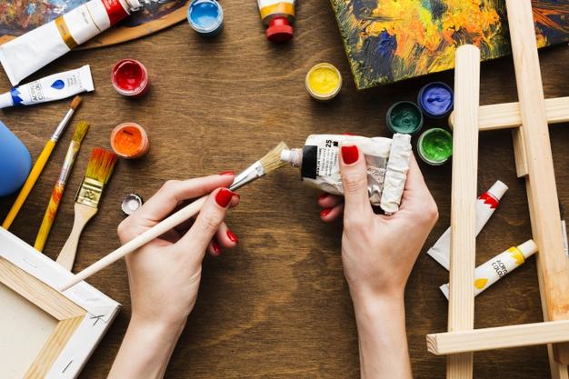 Immagine di colori per laboratorio