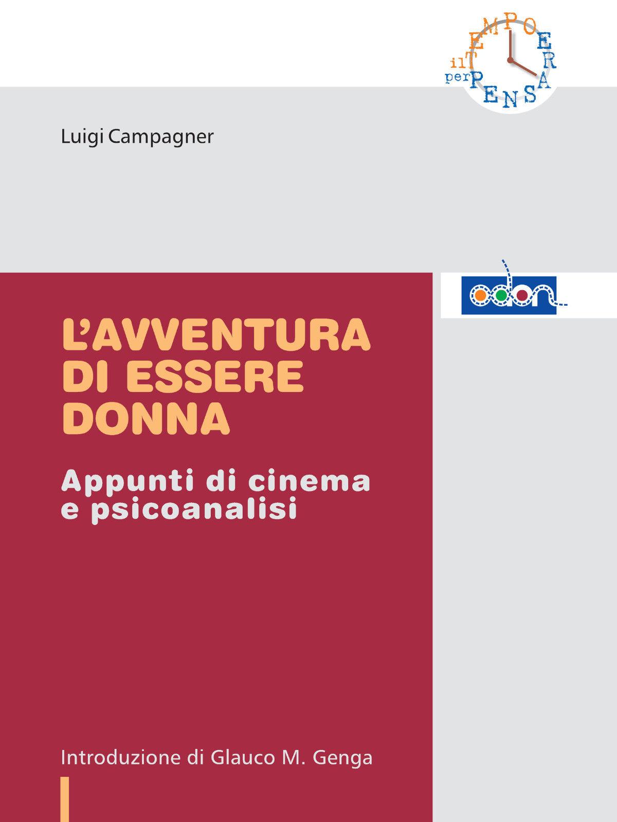 Immagine della copertina del libro L'avventura di essere donna