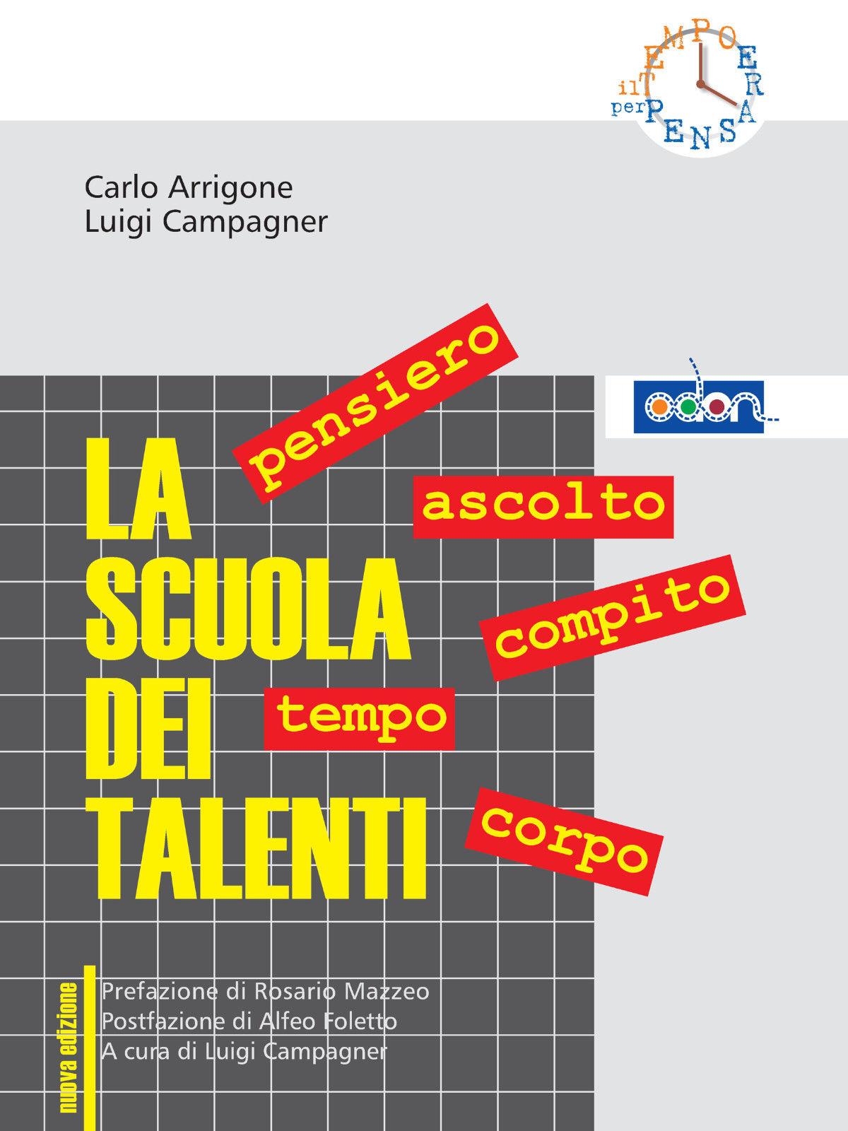 Immagine della copertina del libro La scuola dei talenti
