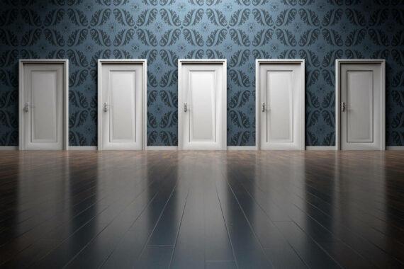 Immagine porte da aprire