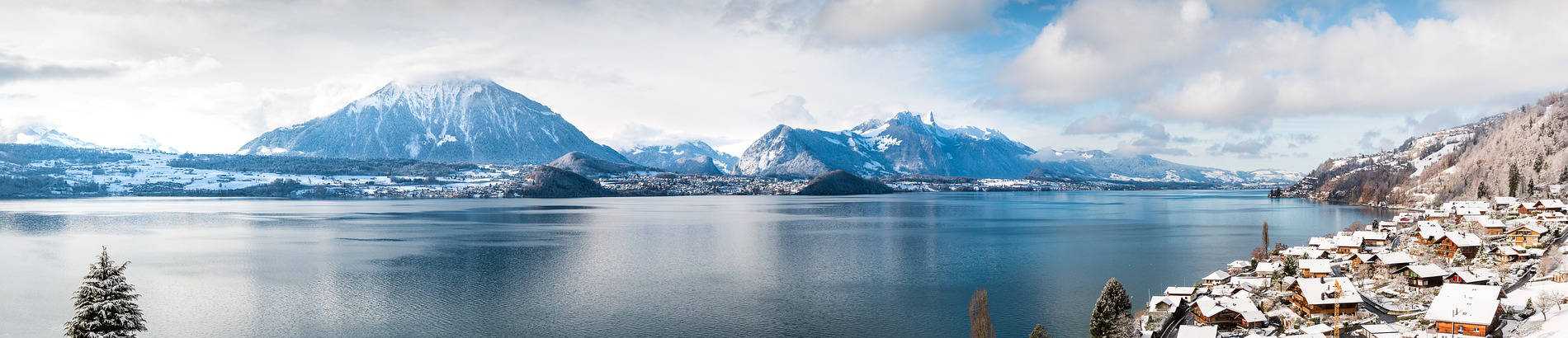 Immagine di un lago di montagna