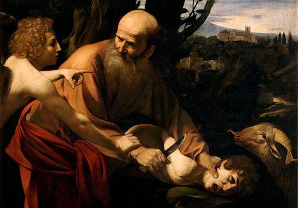 Immagine Il sacrificio di Isacco