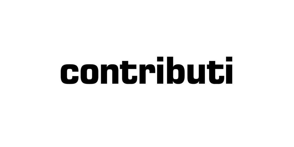 Logo collana Contributi