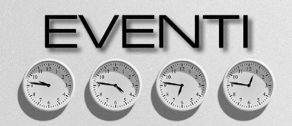 Il logo della categoria Eventi del Blog