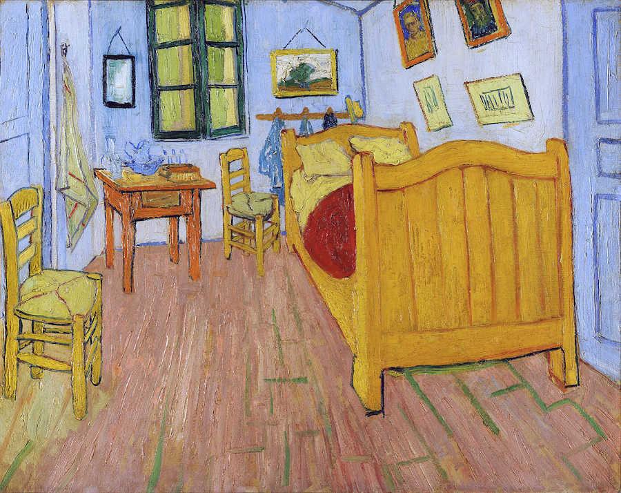 Immagine della camera di Vincent van Gogh