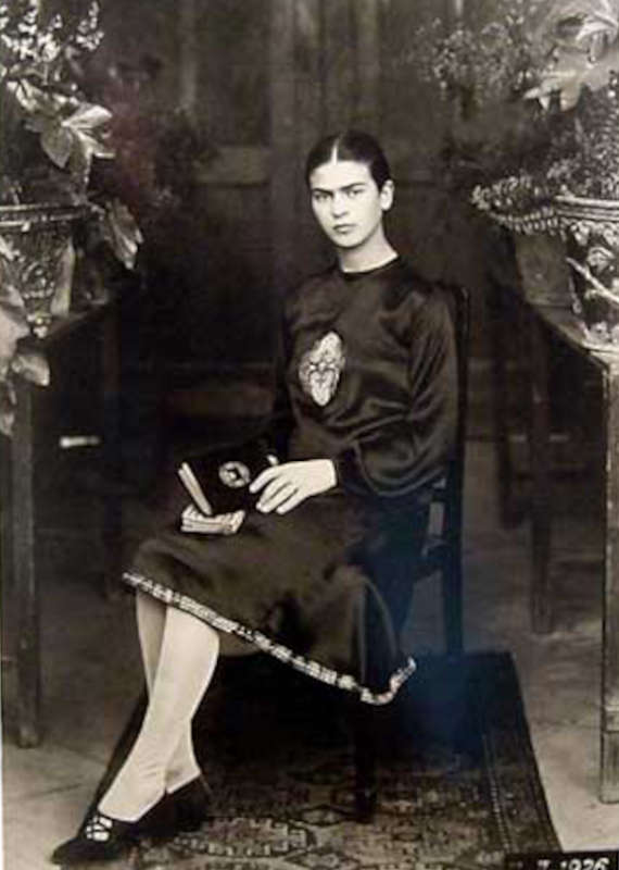Immagine di Frida Kahlo a 18 anni