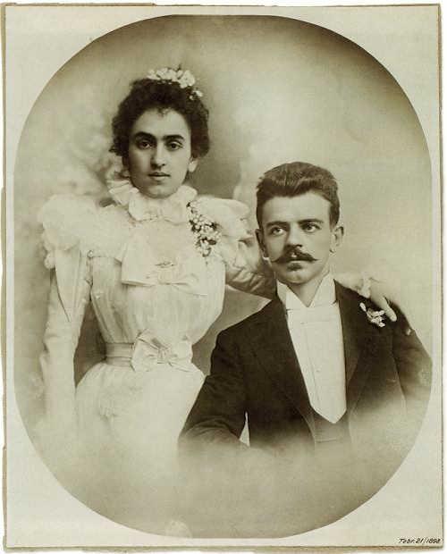 Immagine dei genitori di Frida Kahlo