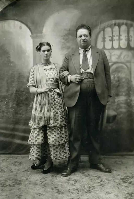 Immagine del matrimonio di Frida e Diego