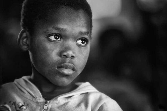 Immagine di un bambino di colore