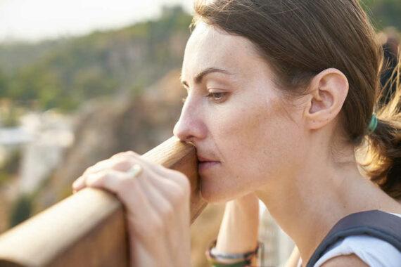 Immagine donna in attesa