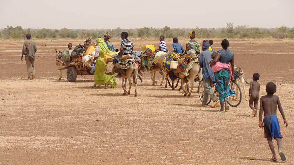 Immagine di migrazione in Africa
