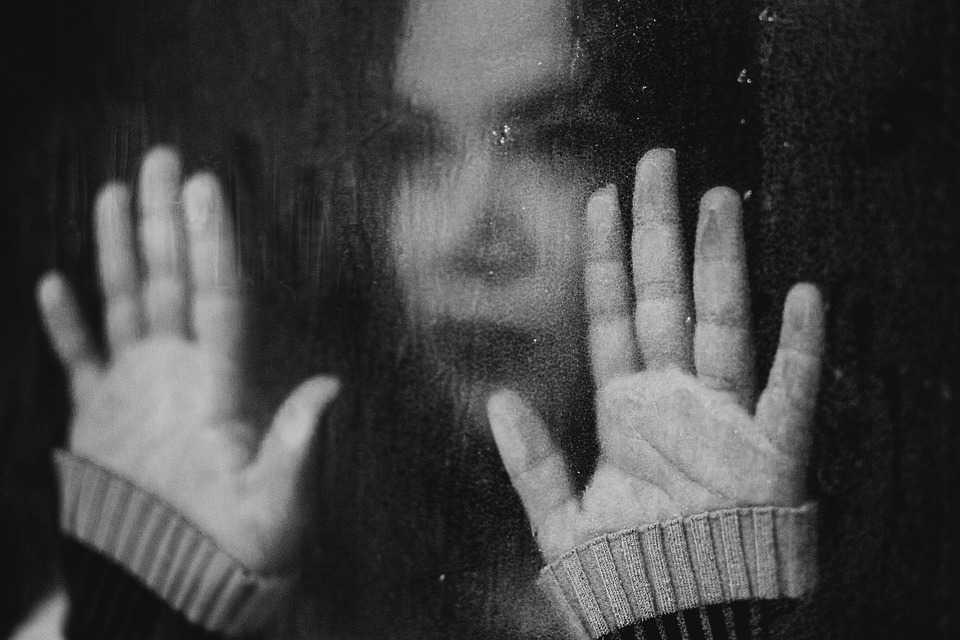 Immagine di donna alla finestra