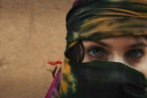 Immagine di donna araba
