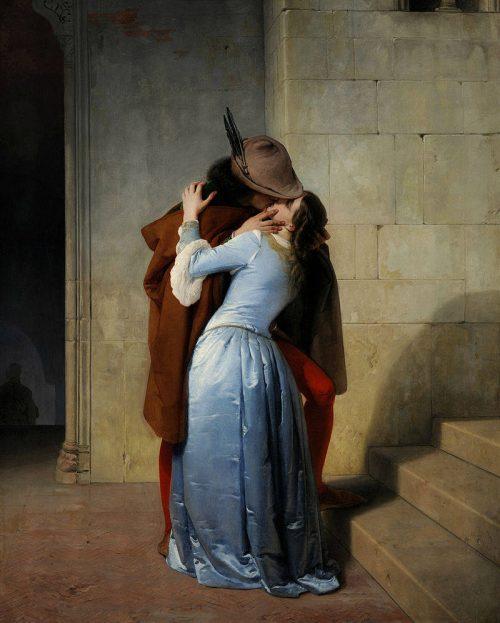 Immagine del quadro Il bacio